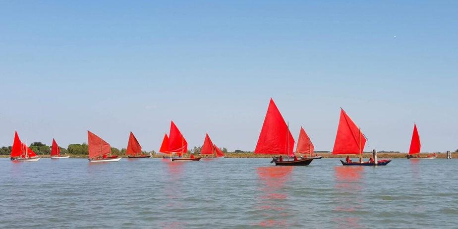 red regatta Murano di Melissa McGill