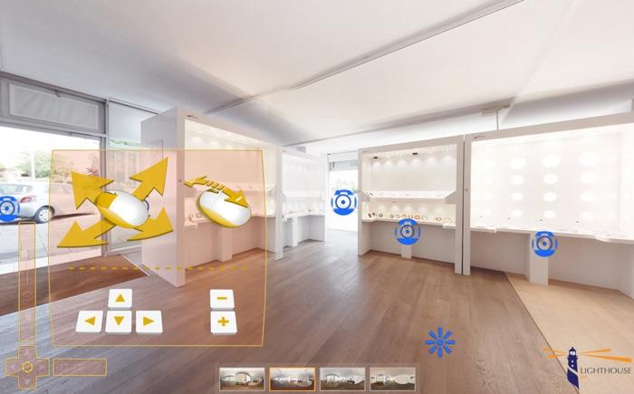 tour virtuale realizzato da Design33